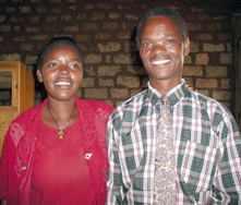Pastor Maxen  & Stellia Phiri: WIT co-workers in Christ